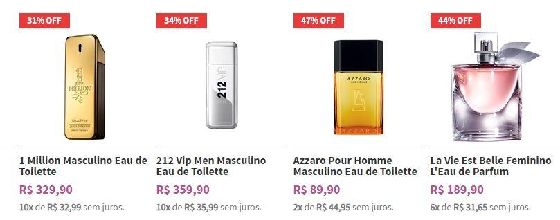 Comprar Perfumes Importados em Promoção