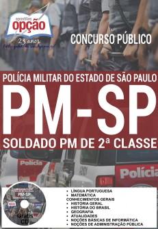 Concurso público soldado pm de 2a-classe
