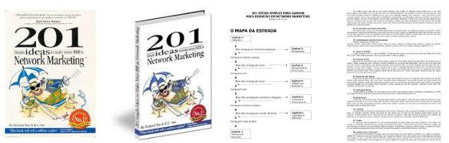 eBook com 201 Ideias Simples de Marketing Multinível para Ganhar Dinheiro