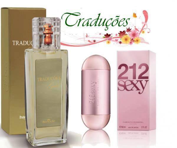 Comprar Perfume 212 Sexy Carolina Herrera com Essência Importada Hinode